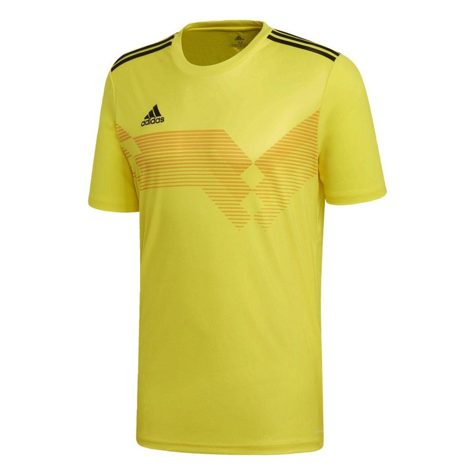Sinis Quizás Montañas climáticas  Camiseta Adidas CAMPEON19 Amarelo   Camisas de futebol, Adidas e ...