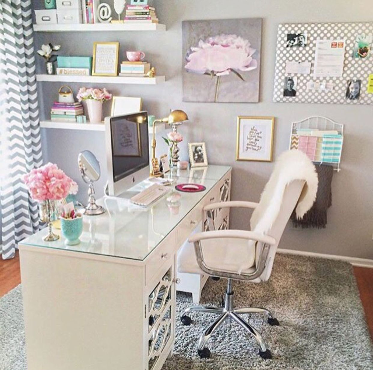 43 Ideas Office Decor For Cubicle Professional Must Popular 2019 Home Office Space Home Office Design Home Office Decor