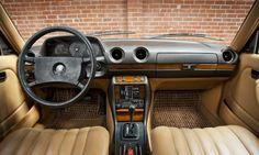 This Is What The Inside Of My Baby S Going To Look Like After This Weekend Detailing Benz Mercedes Benz Interior Mercedes W123 Mercedes Interior