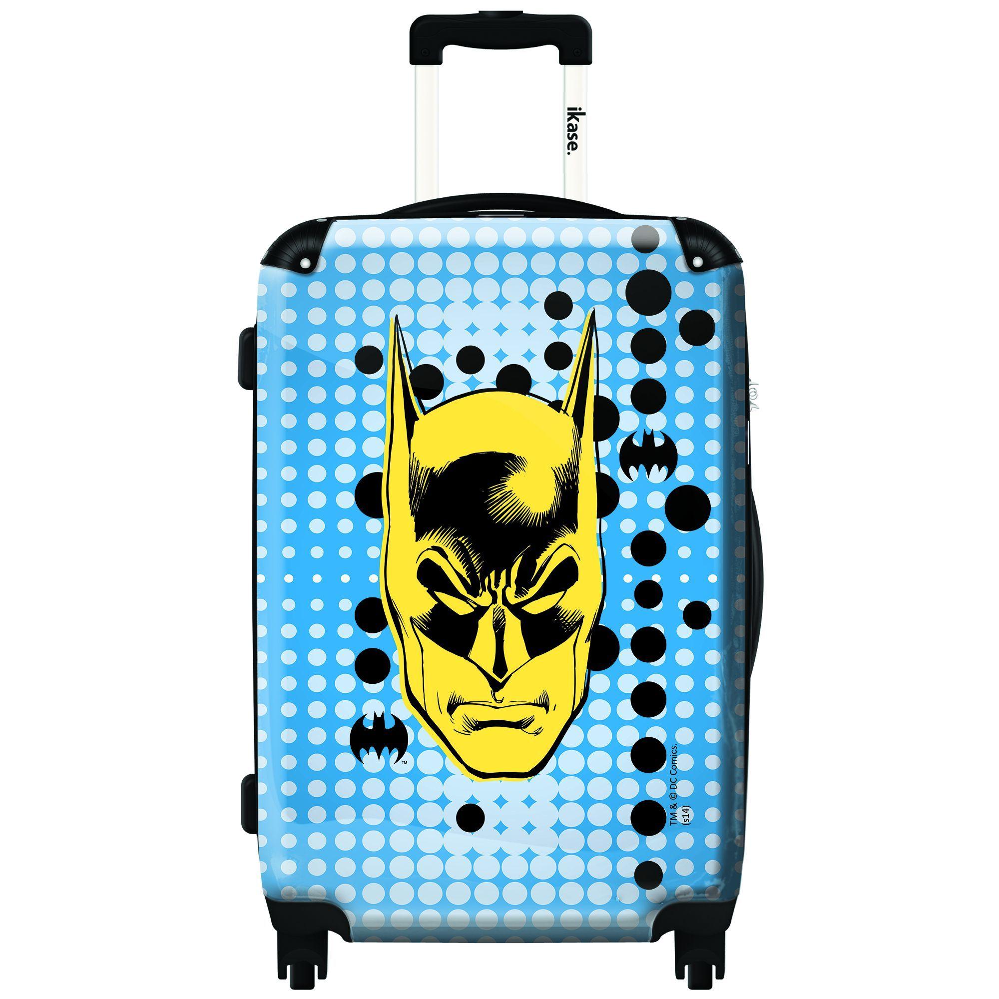 iKase 'Batman Pixel' 20-inch Fashion Hardside Carry-on Spinner Suitcase