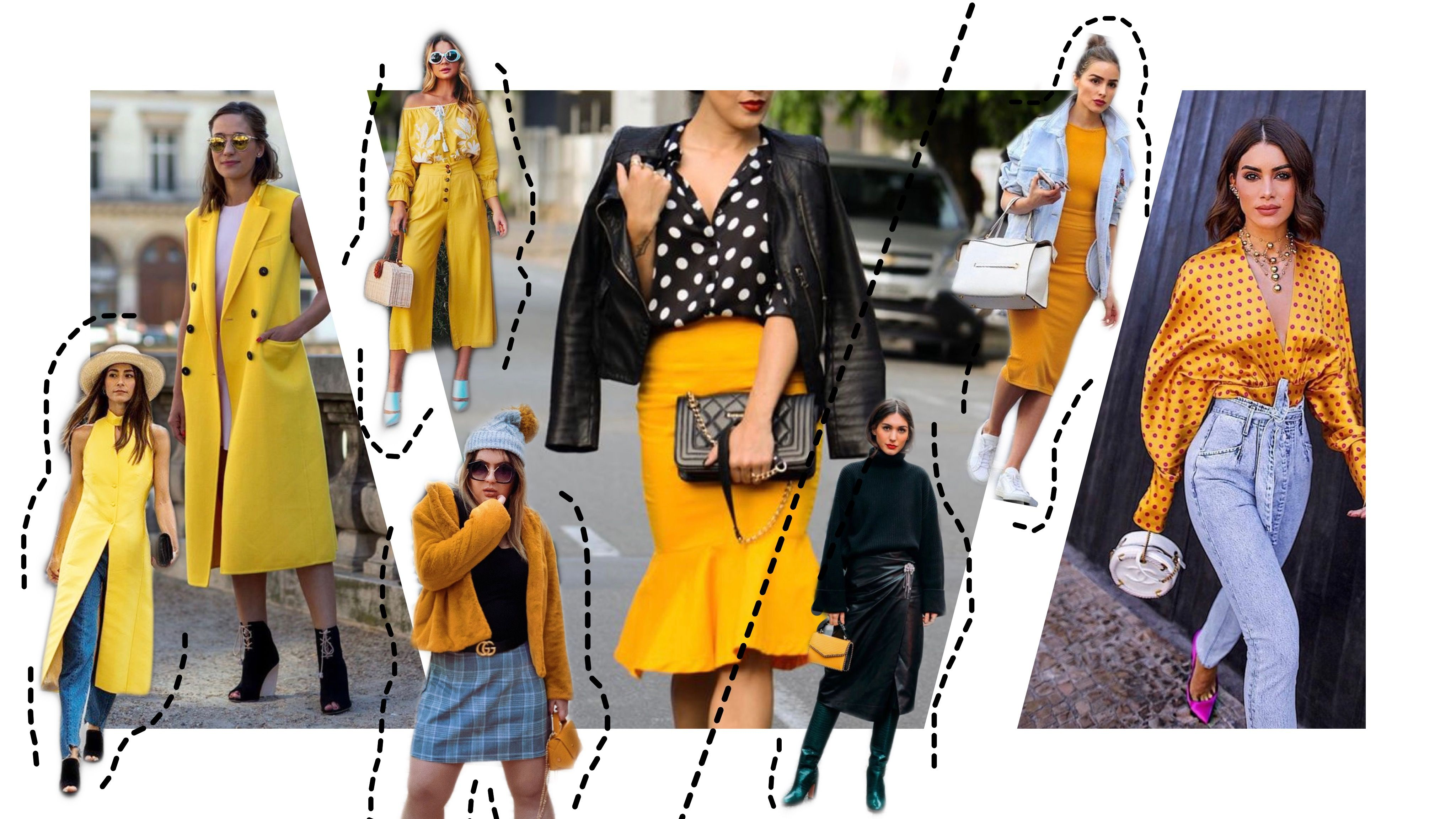 As Cores Que Estao Bombando No Street Style As Tagarelas Moda