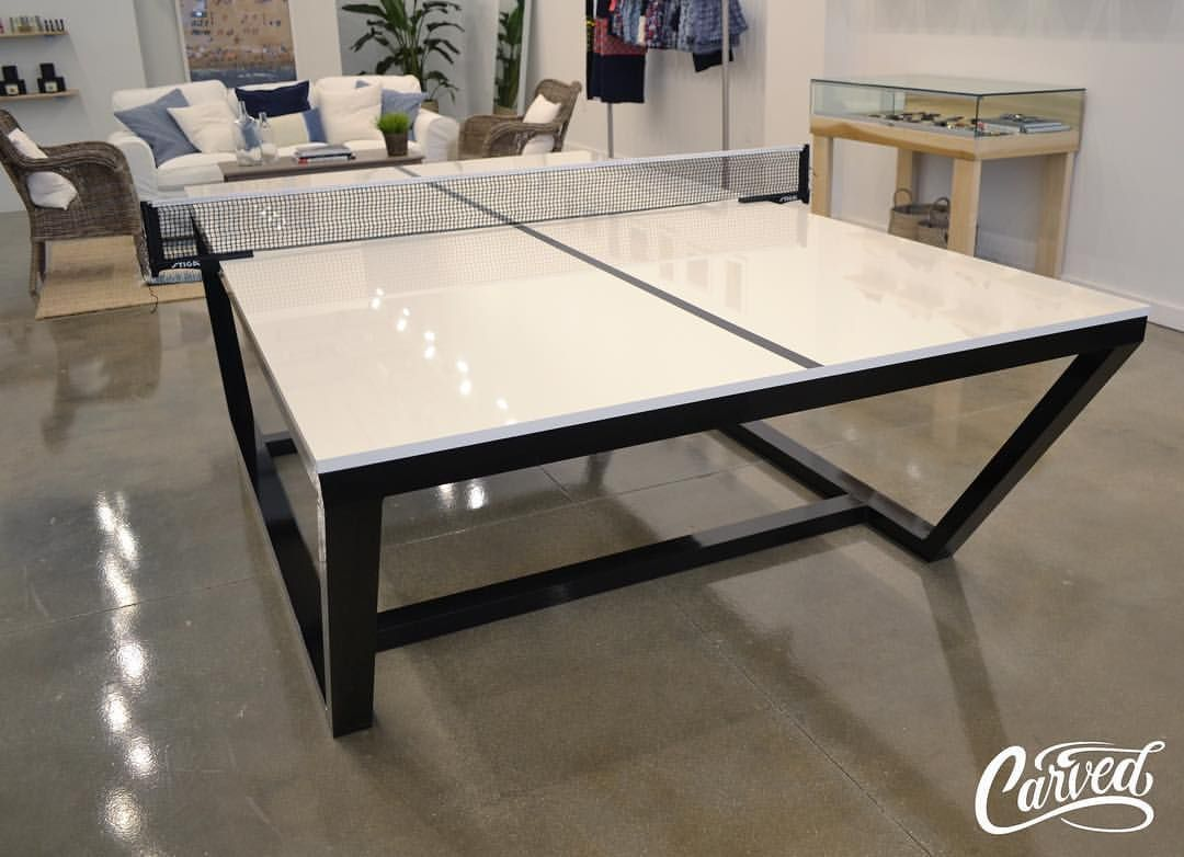 Custom Ping Pong Table | Our Furniture | Pinterest | Ping pong ...