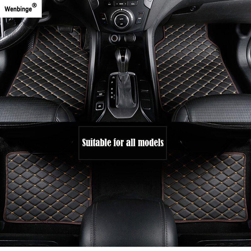 Wenbinge Car Floor Mat For Mitsubishi Pajero Sport 4 Grandis Lancer Outlander Xl 2017 2013 Car Acce In 2020 Waterproof Car Car Mats Floor Mats