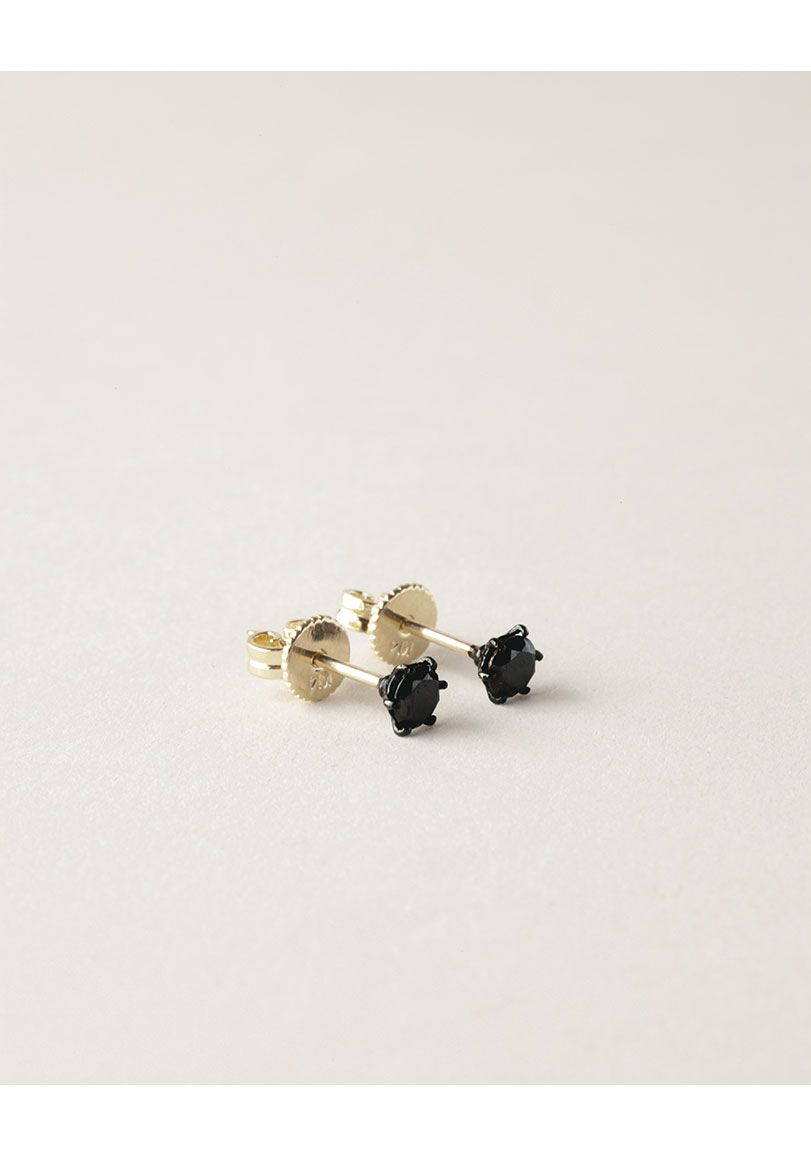 Jiwon Park / Black Diamond Earring $498