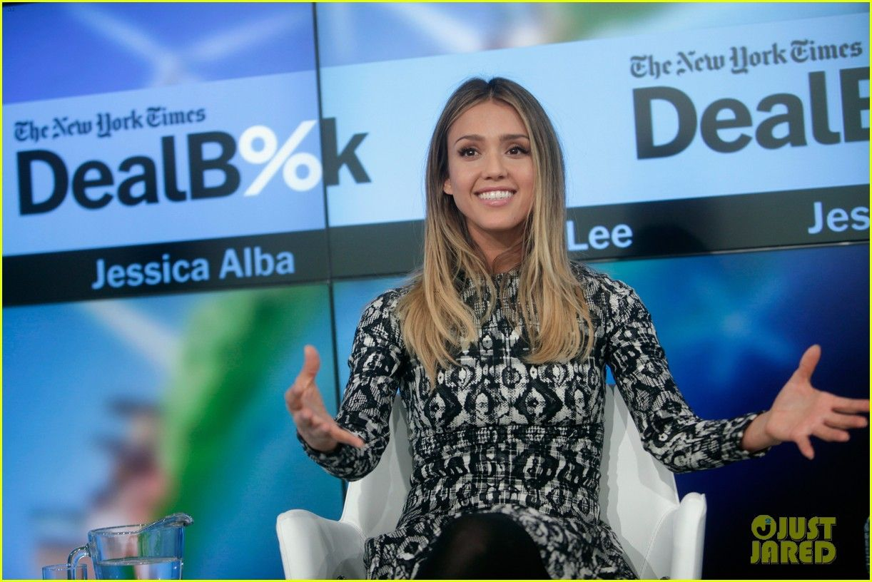 Jessica alba says being in business is uso stressfulu style