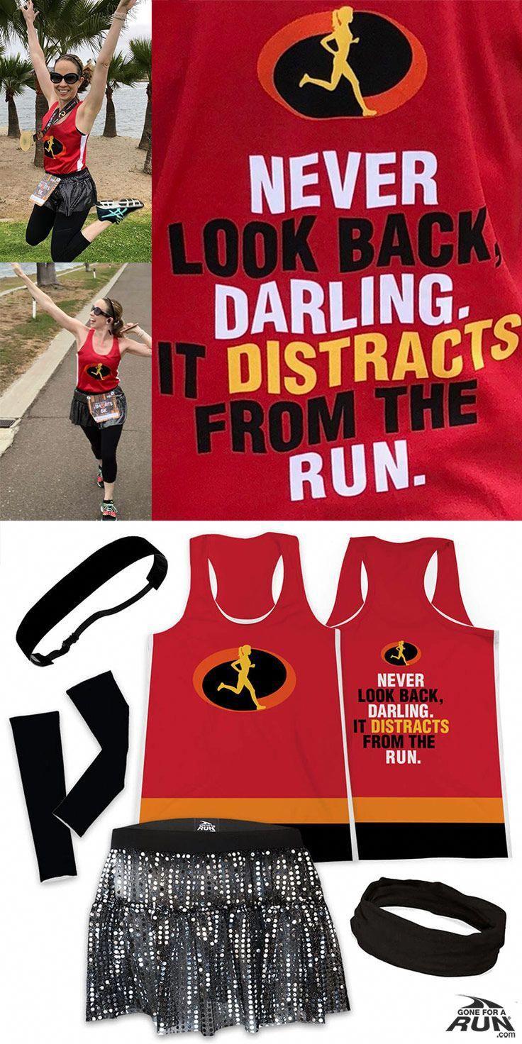 Look Who Is An Incredible Runner Runanastaciarun More Running Outfits Available Disney Running Outfits Race Day Outfits Run Disney Costumes