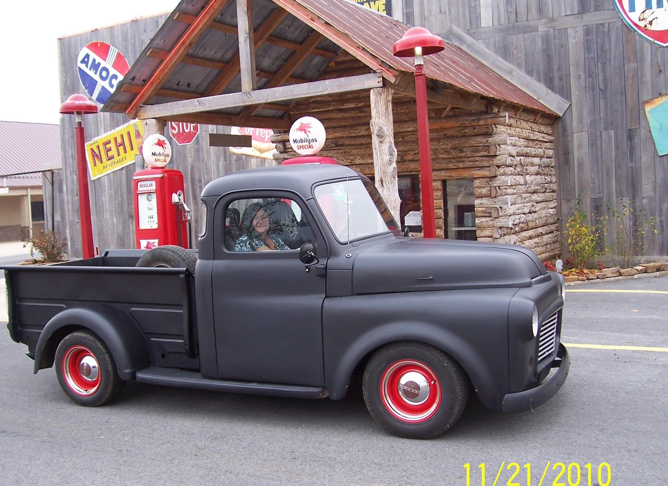 Our 1952 Dodge Pickup Truck Mountain View Arkansas Bar B Cruise Dodge Pickup Dodge Dodge Truck