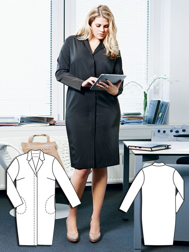 Office Party: 9 New Plus Size Sewing Patterns #articlesblog
