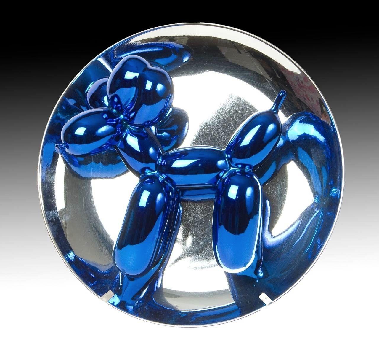 Balloon dog blue from 1995 dog sculpture jeff koons