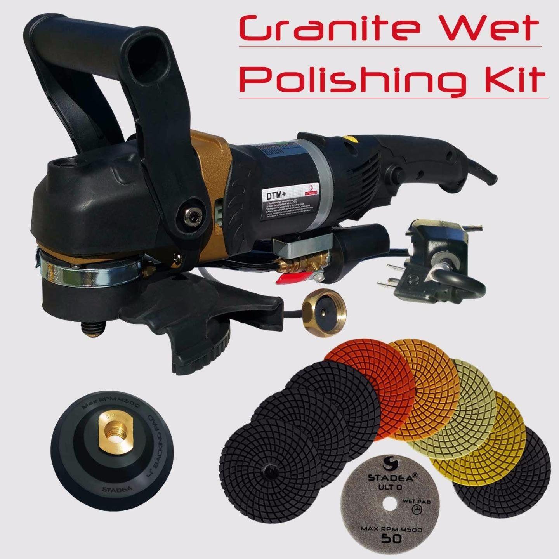 Stadea Swp102k Stone Polisher Granite Polishing Kit Wet Variable Speed Grinder Granite Wet Polishing Https Powerdrill Site Stadea Sw In 2020 Polishing Kit Wet Stone
