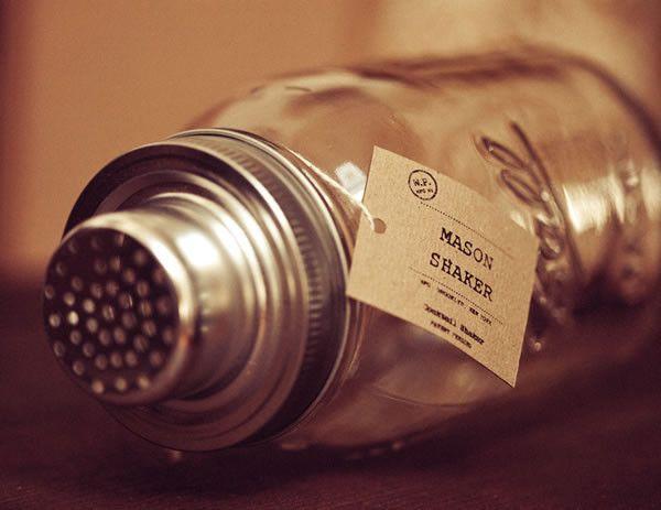 Mason Jar Martini Shaker