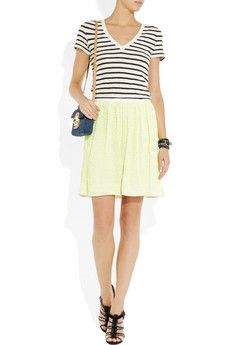 J.CREW  Vintage striped cotton T-shirt