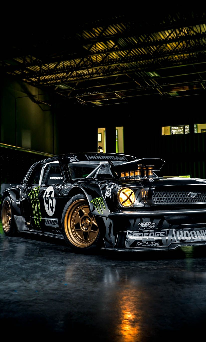 Ken Block S 845 Hp Hoonicorn 1965 Ford Mustang Ken Blocks Ken