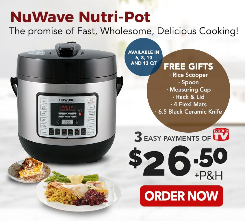 Pressure Cook Recipes: Nuwave Pressure Cooker Recipes