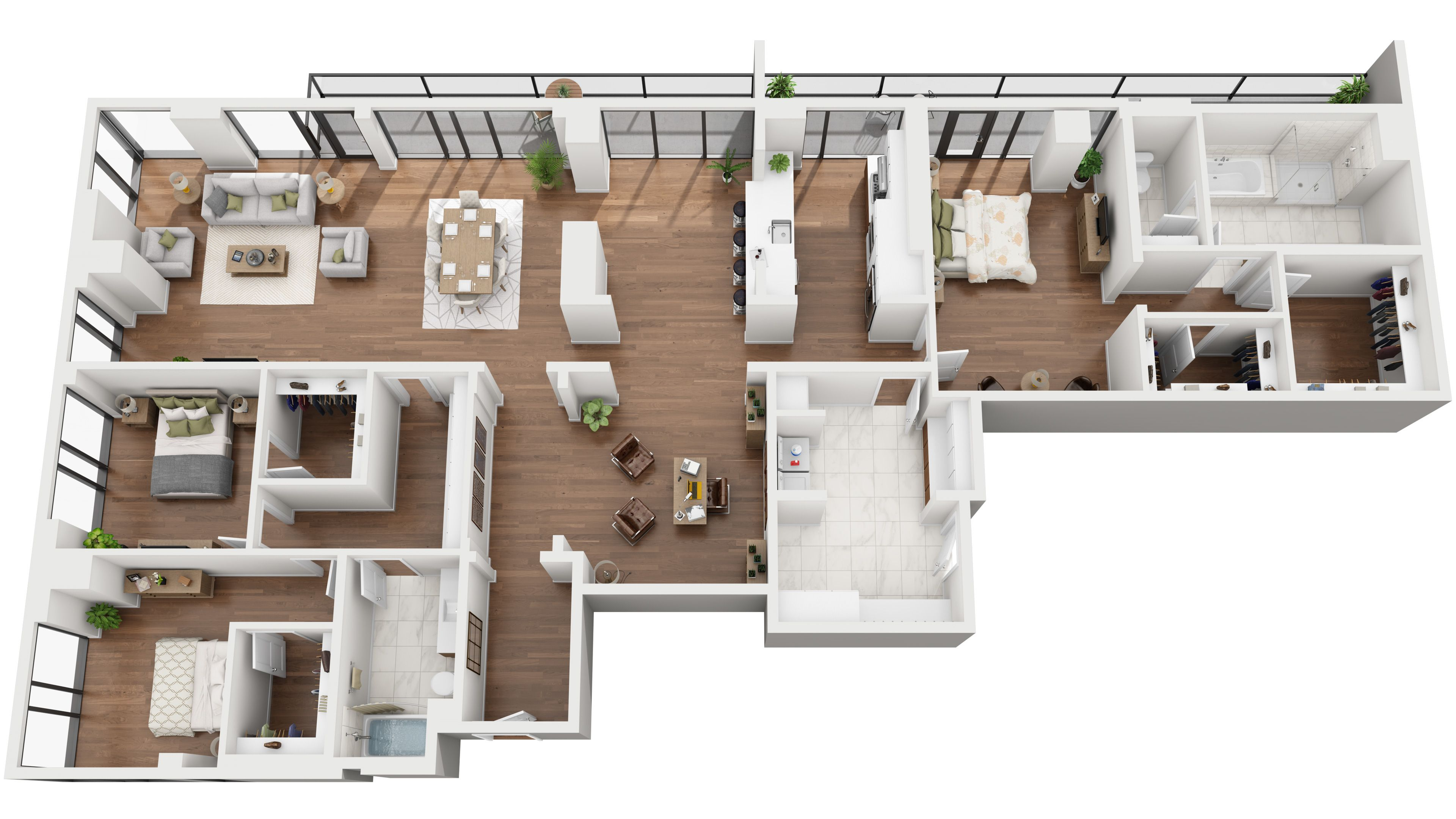 Standard 3d Floor Plans Condo Floor Plans Sims House Design House Layouts