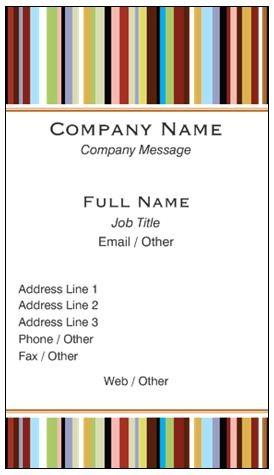 Vistaprint ... networking business card