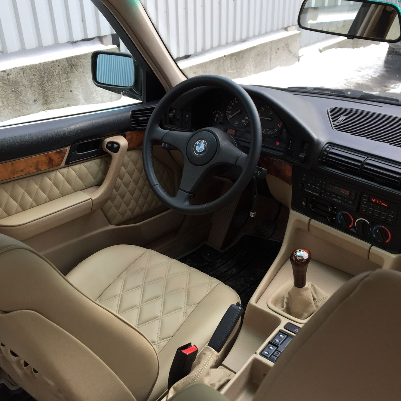 Bmw Z3 Sport Seats: Interior BMW 535i E34
