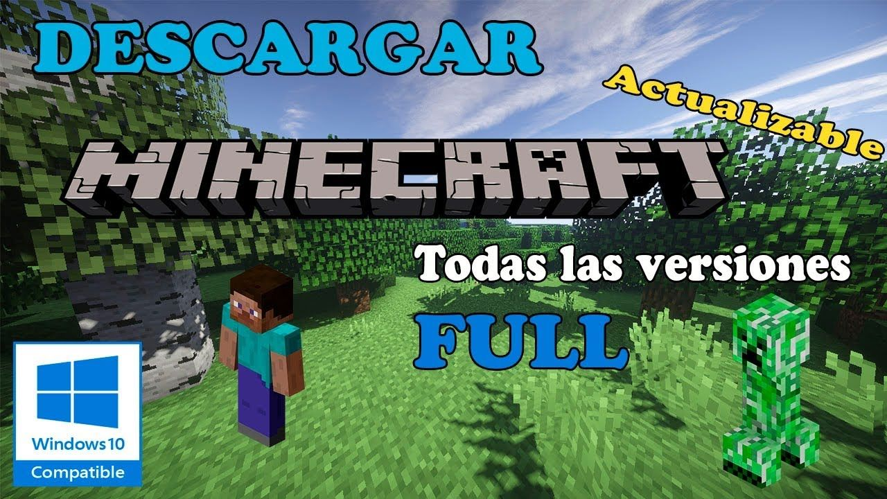 Descargar Minecraft Para Pc Windows 10 Gratis Ultima Version En Español Minecraft Para Pc Minecraft Mods De Minecraft