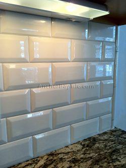 Kitchen Backsplash Beveled Subway Tile cottage lane subway tile beveled 3x6 inch. summer beige | kitchen