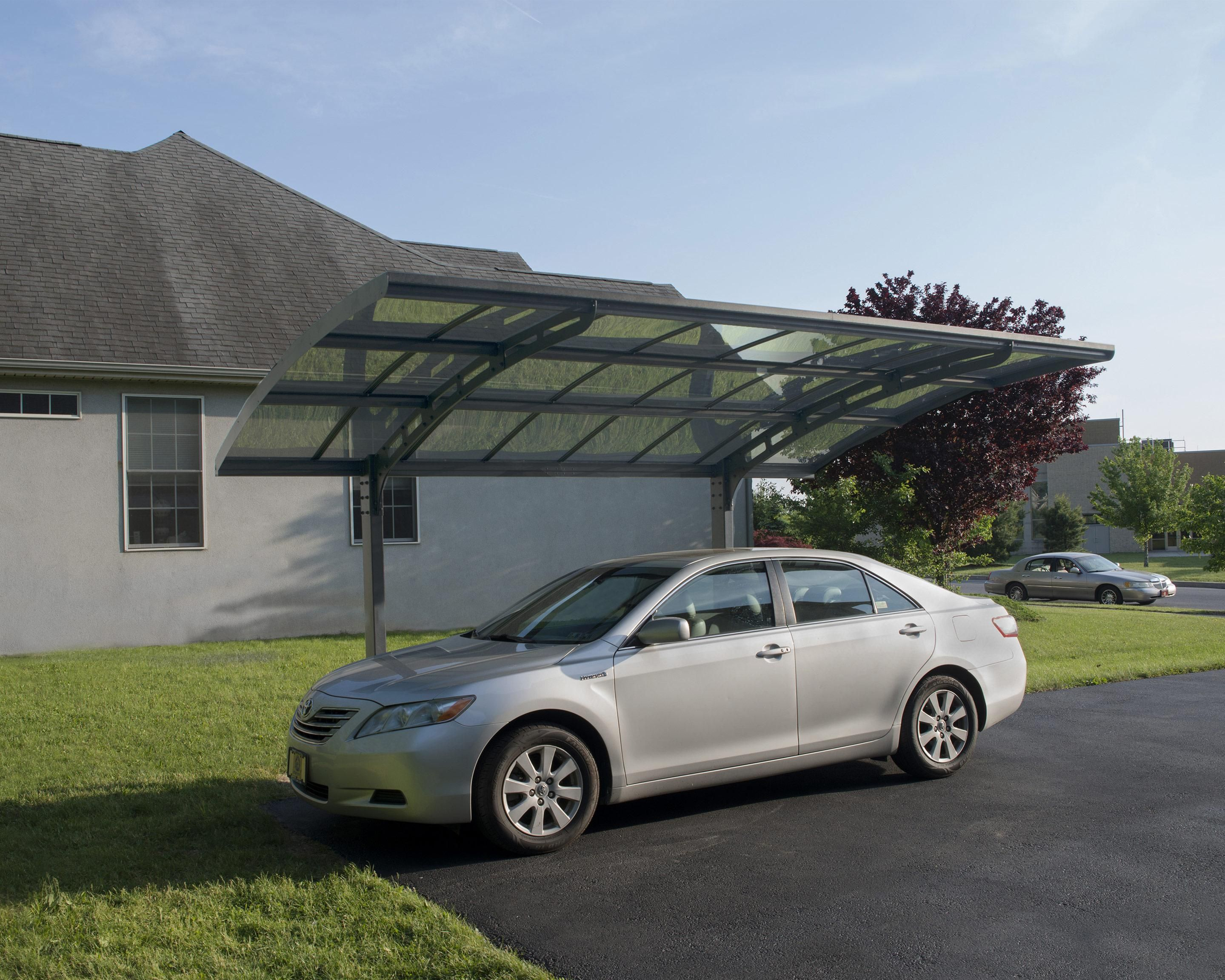 Carport aluminium et acier galvanisé Palram Arizona Breeze