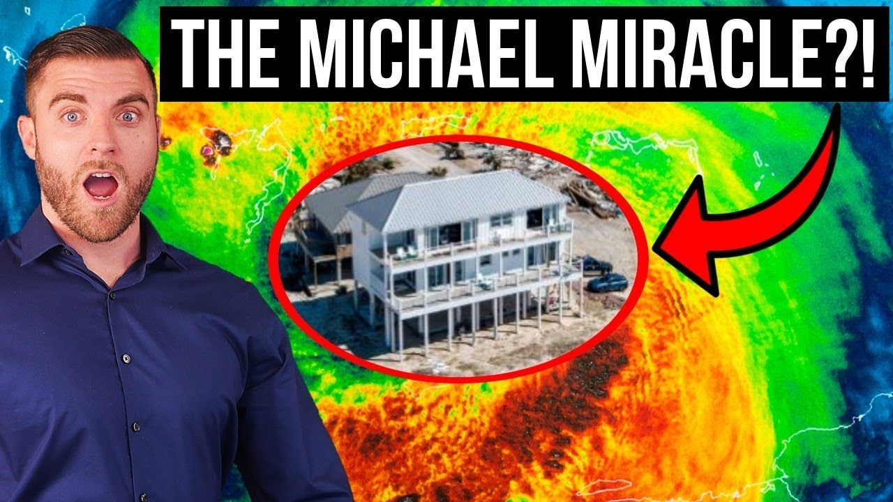 Home SURVIVES Hurricane Michael! – You WON'T Believe This! - YouTube