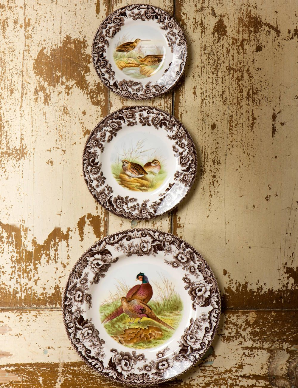 Everyone needs a little Spode in their life! Spode woodland plates.
