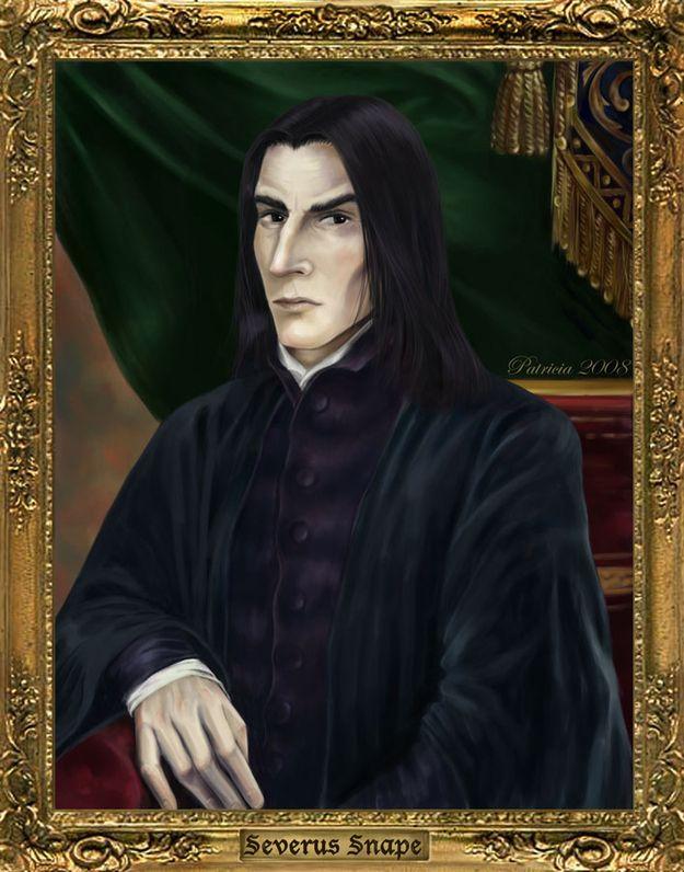 哈利保證西弗勒斯·斯內普'的肖像被恢復到霍格沃茨校長&#39適當的位置;辦公室。