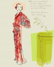 |Illustration – Montage | Fashion illustration by Anna Handell