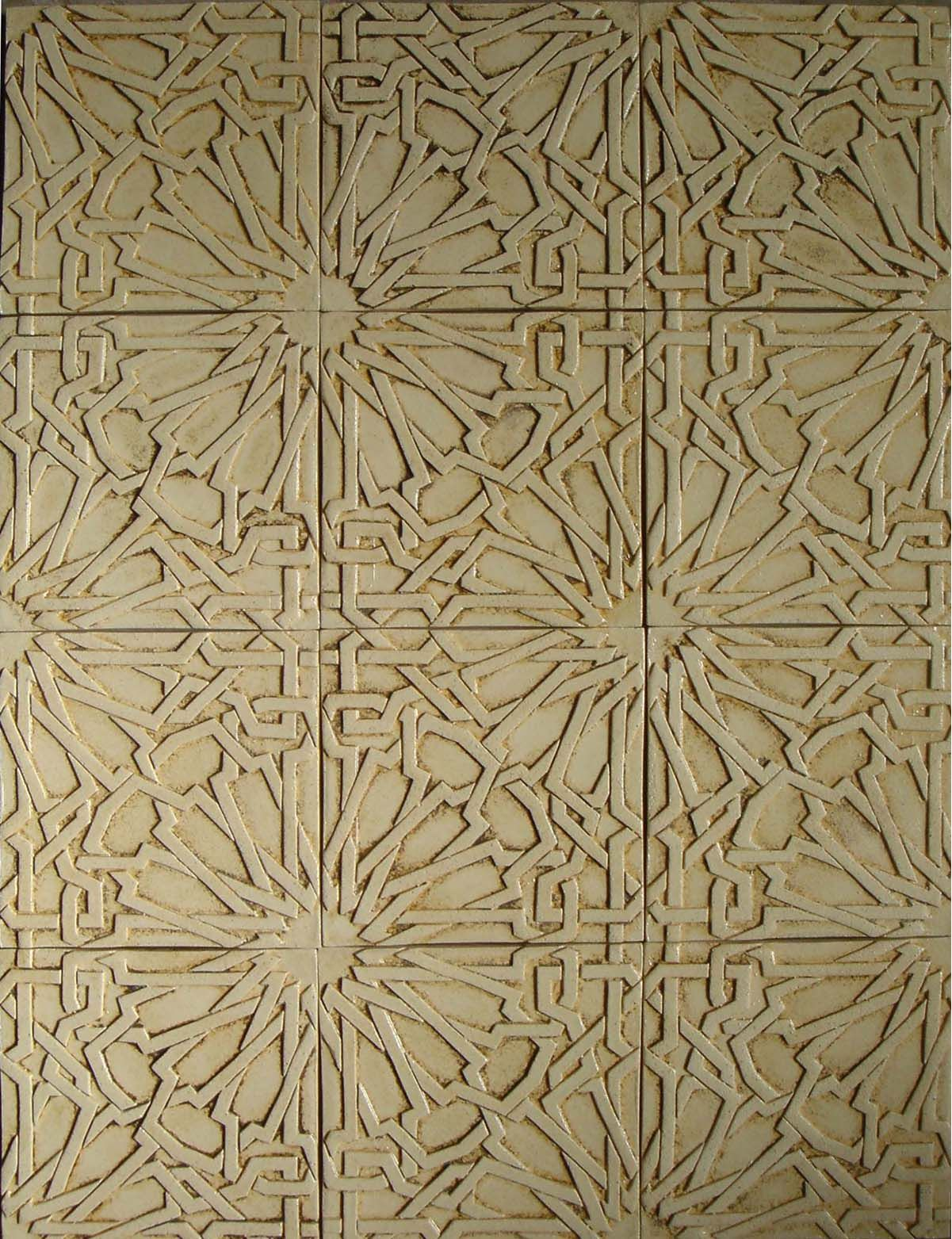 Intricate, interlocking gold tile pattern. #CCC | It's all ...