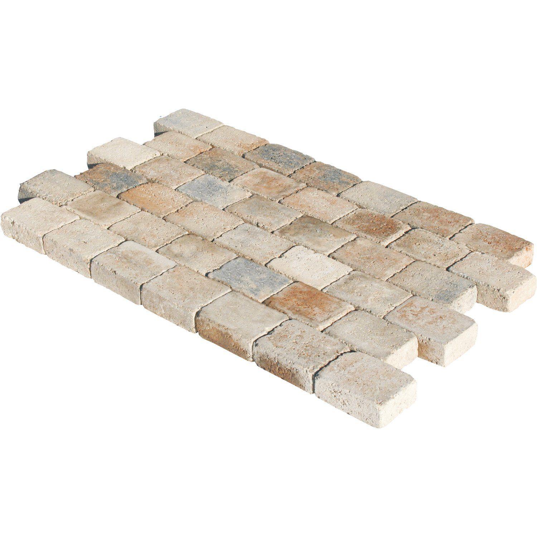 antik-pflaster beton muschelkalk 16,5 cm x 12,3 cm x 6 cm kaufen bei
