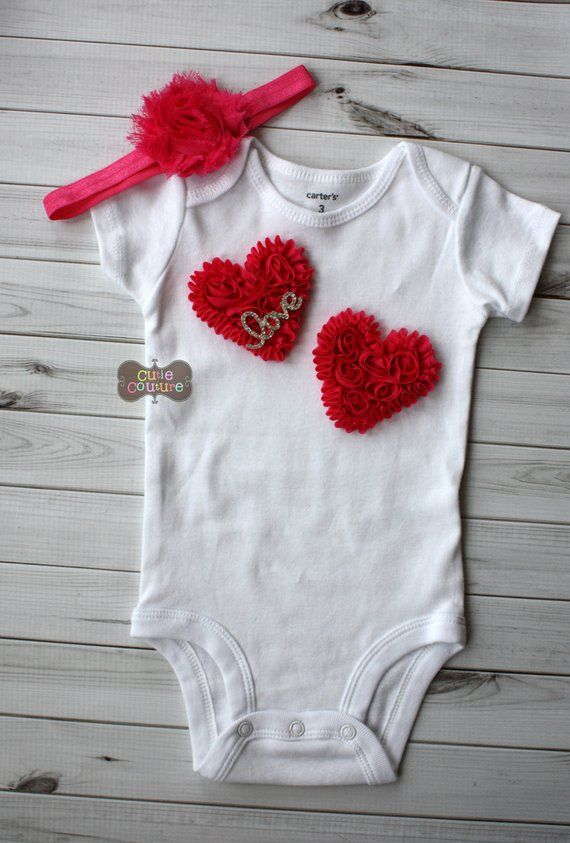 11a568801 Boutique Style-Baby Outfit-Heart-Hospital Outfit-Newborn Photo Prop-Newborn  Girl Hospital Outfit-Com
