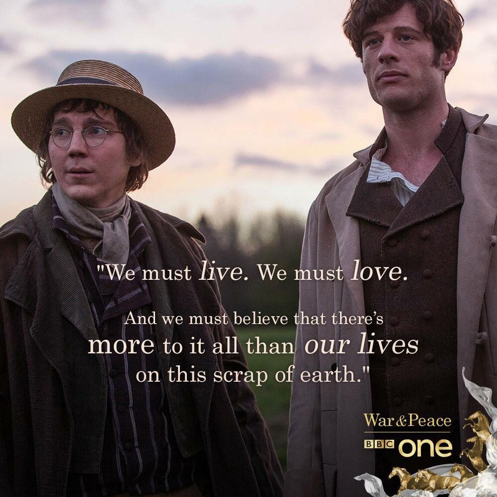 War Peace 2016 War And Peace Bbc War And Peace Quotes Book Tv