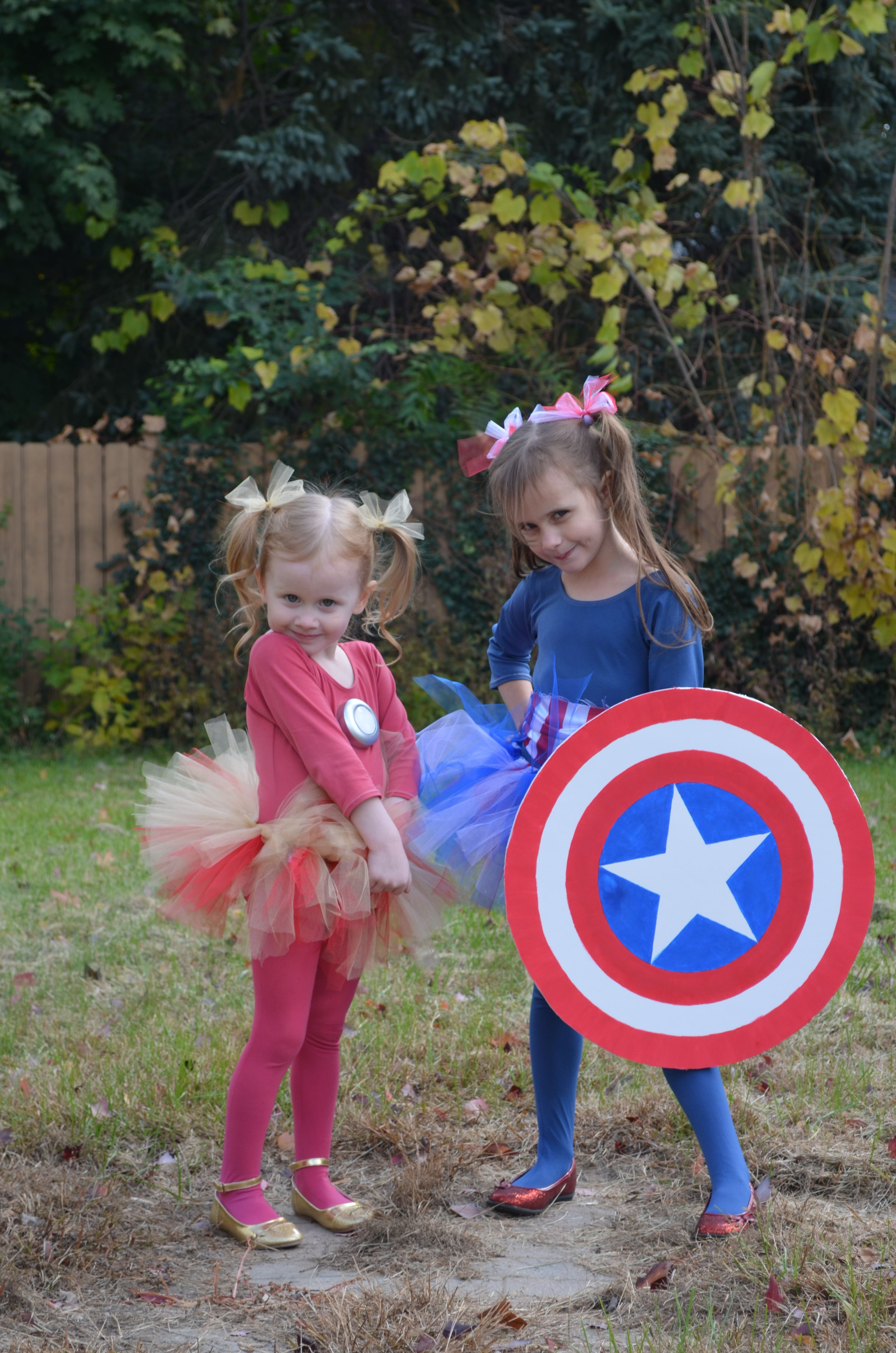 Iron Man and Captain America costumes for girls. | Stuff for ...