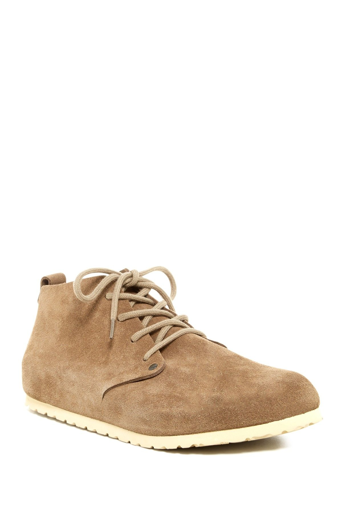 e5a7db18e828 Birkenstock Harrison Leather Lace Up Shoes