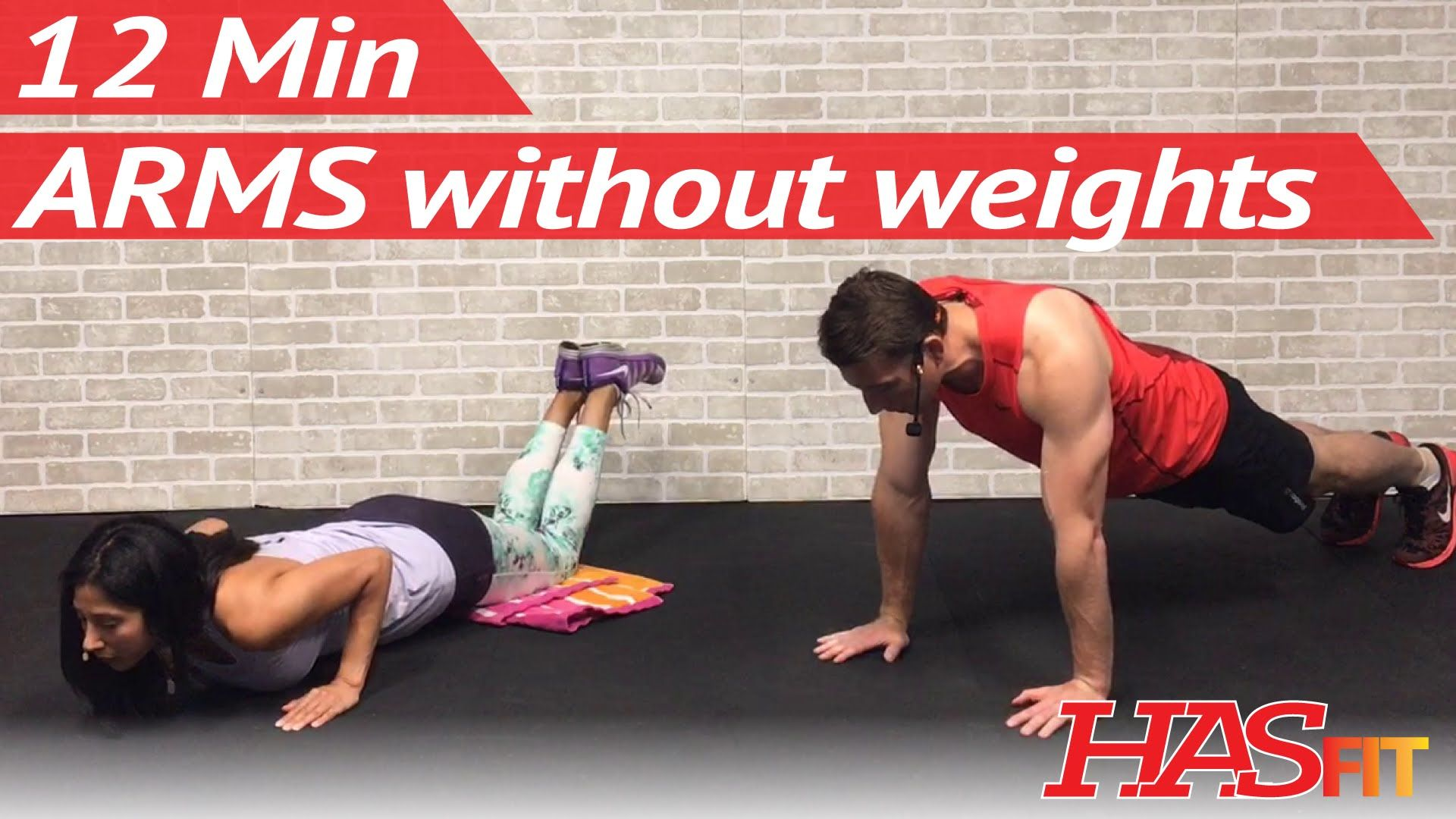 12 Min Arm Workout Without Weights For Women Men