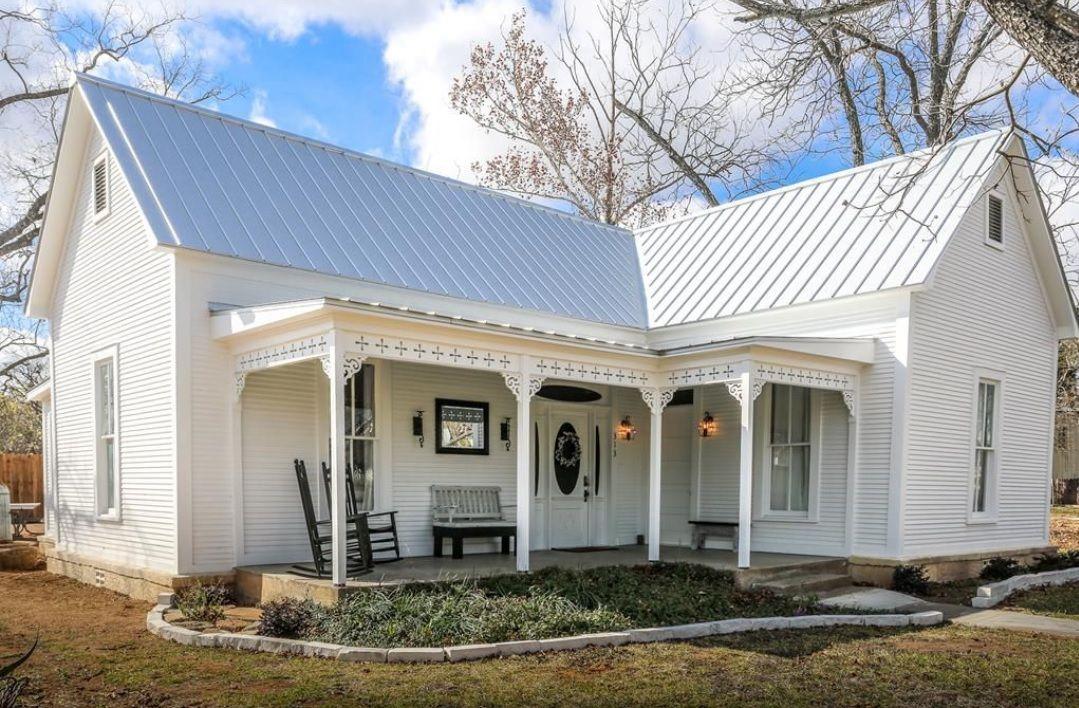 a home in Fredericksburg, TX Farmhouse remodel