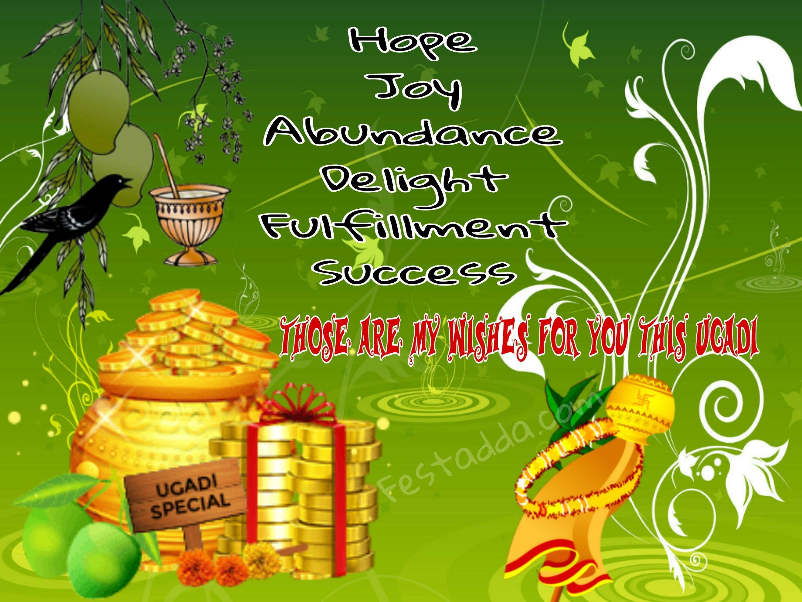 Happy Ugadi Festival Images Photo Gallery Messages Greeting