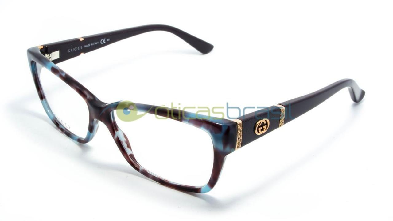 Gucci GG 3559 MKB - Óculos de Grau A Óticas Brasil oferece um grande  estoque de 3a831dc978