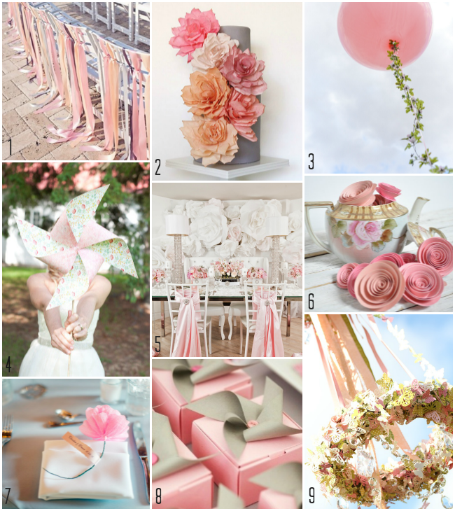 Using Whimsical Decor To Create A Romantic Wedding On A