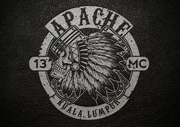 biker gang logos biker gang logo art print sagit biker