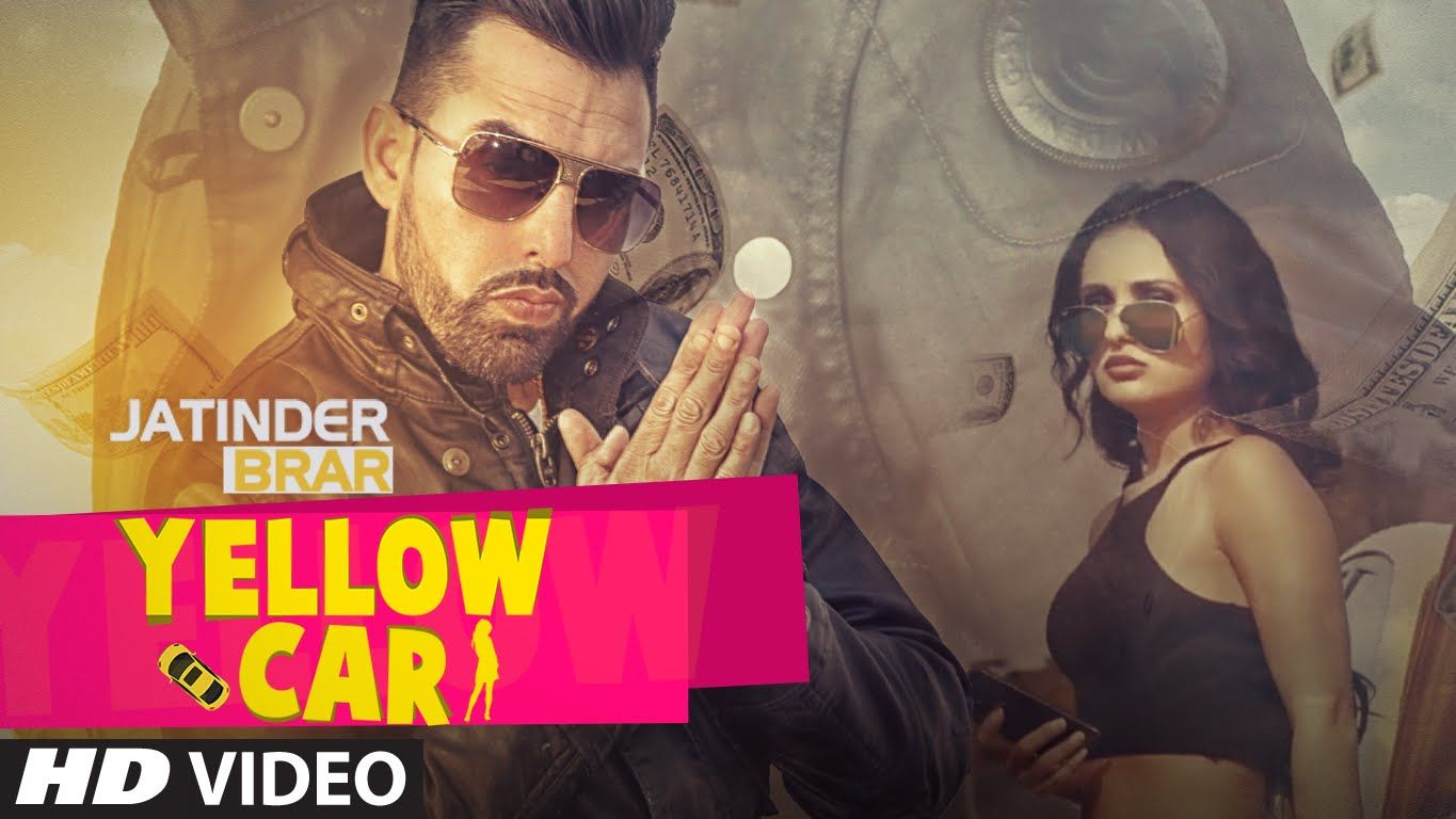 Jatinder brar is here with his new song yellow car which is composed by deep jandu