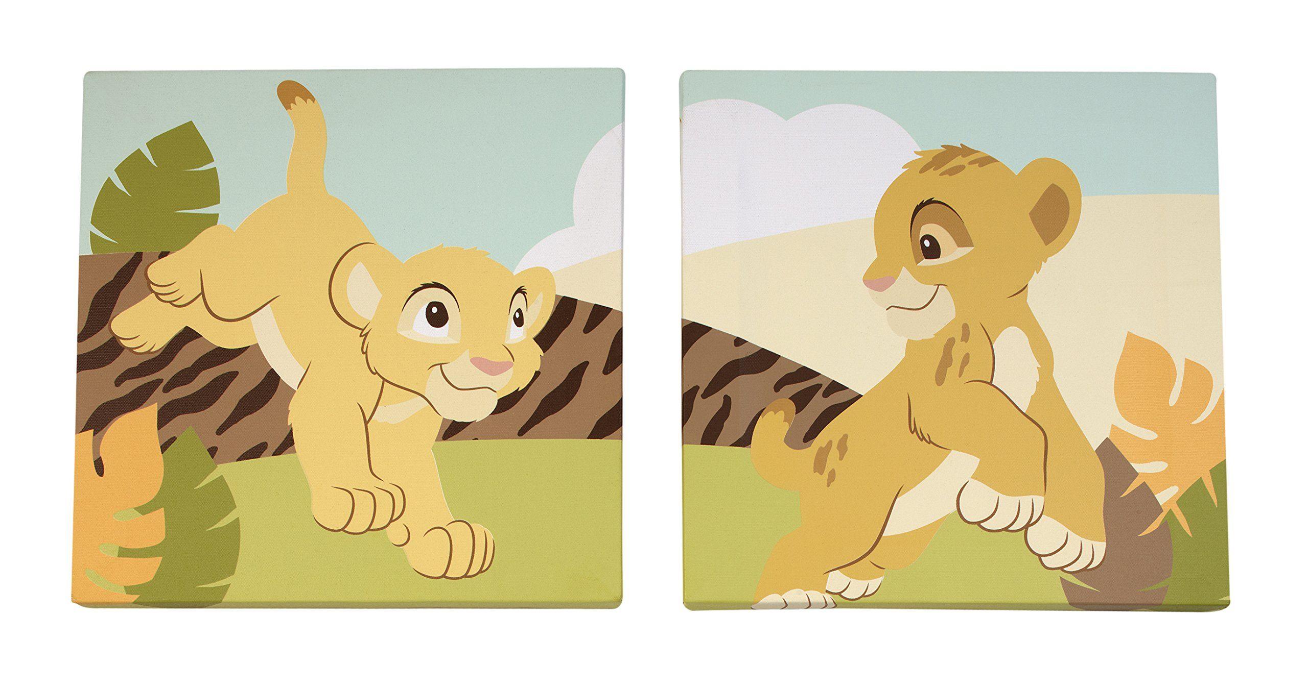 Disney Lion King Wall Art, 2 Count | Kids Bedrooms Ideas & DIYs ...