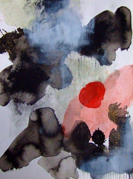 Abstrakte Kunst Original Malerei Haus Dekor