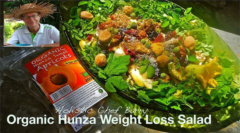 Organic Hunza Weight Loss Salad With Article And Recipe Is Pending By The Good Earth Holistic Chef Barry Anderson