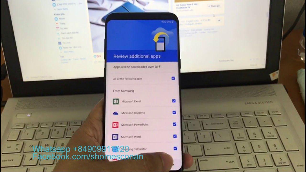 Bypass google account FRP Samsung Galaxy S8 Plus Korean