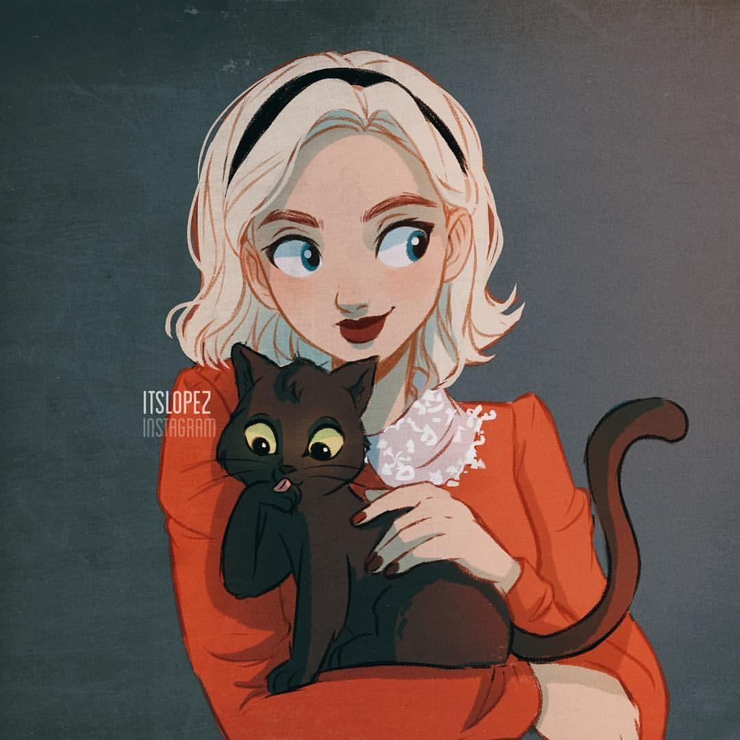 Laia Lopez On Instagram Sabrina And Salem