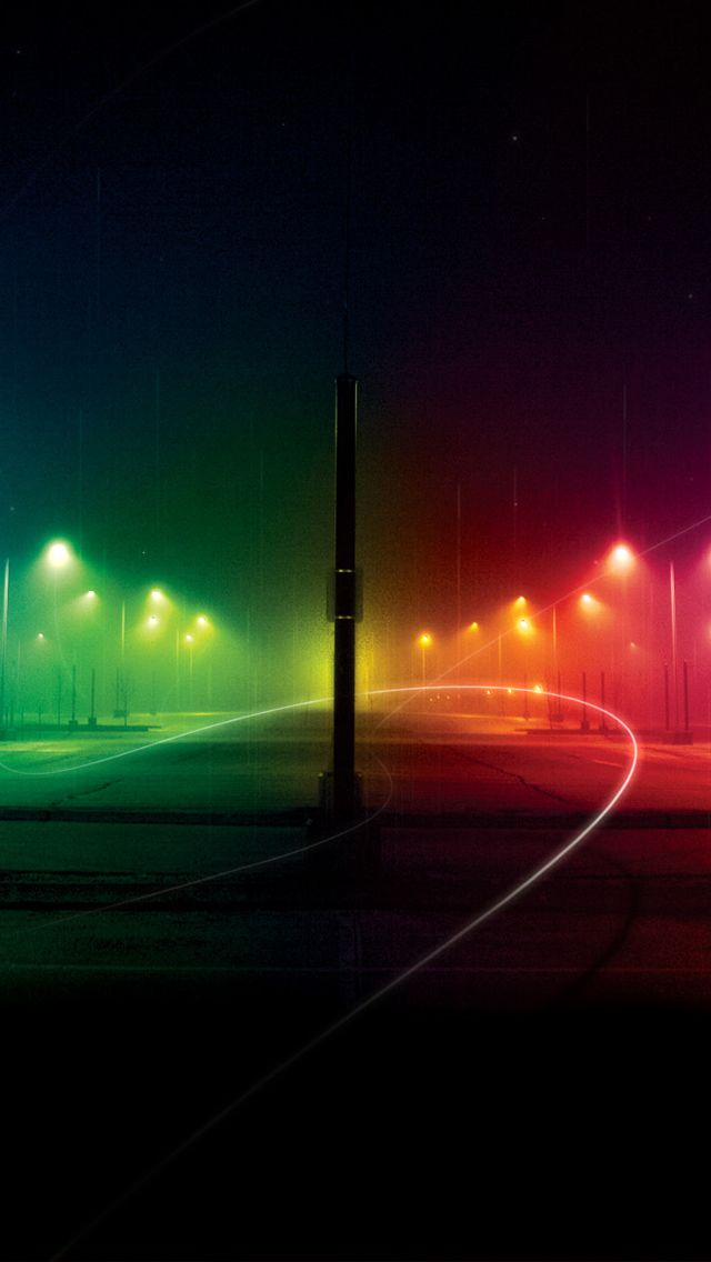 Night Rainbow Road Iphone Wallpapers With Images Iphone Wallpaper Video Best Wallpapers Android Rainbow Wallpaper