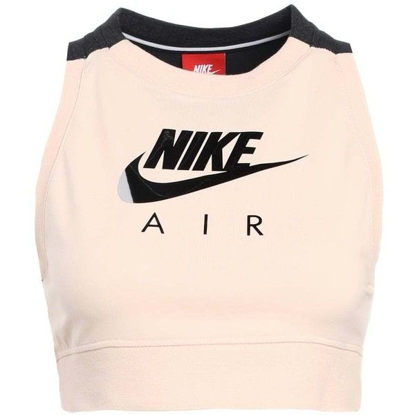 bcbf48294a964c Nike Sportswear TANK CROP AIR Top ❤ liked on Polyvore featuring tops