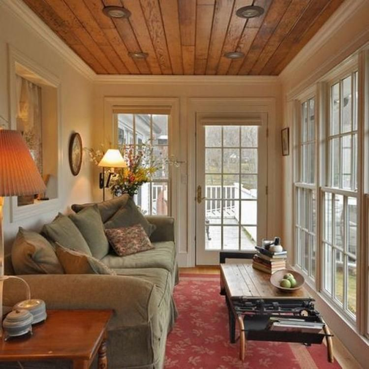Enclosed Porch Decorating Ideas: 55+ Comfy Sunroom Ideas