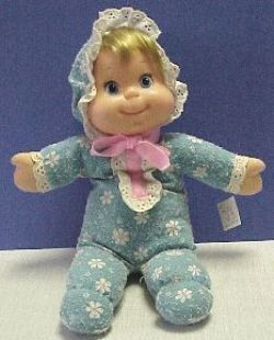 Vintage Mattel Baby Beans 1970 S She Even Had A Pull String In The Back And Would Talk Nostalgia Childhood Games Toys Childhood Toys
